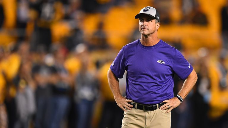 The Ravens haven't reached the postseason since 2014