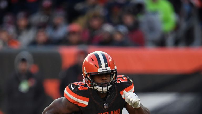 Rookie runner Nick Chubb has burst into life in recent weeks for the Browns