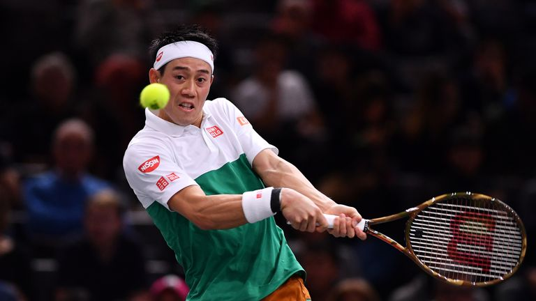 Nishikori will be making his fourth appearance at London's O2 Arena where he reached the semi-finals in 2014 and 2016