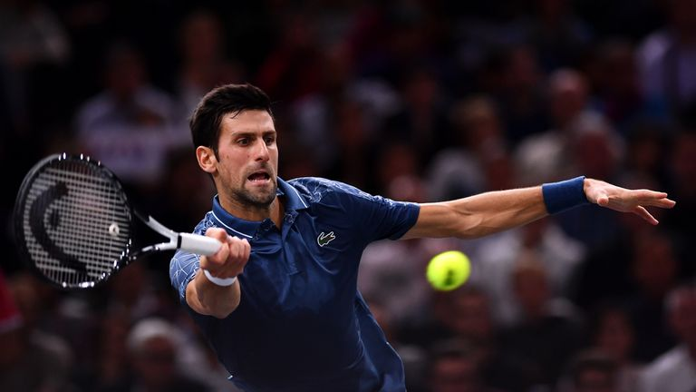 Djokovic extended his winning streak to 22 matches