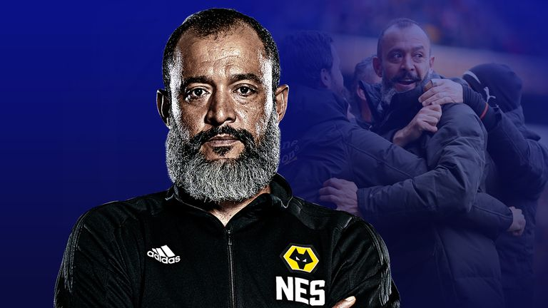 Wolves boss Nuno Espirito Santo has made an impact on the Premier League