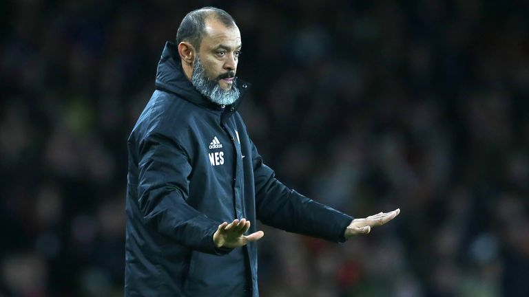 Nuno Espirito Santo's Wolves have not been high scoring, but they have also been tight in defence