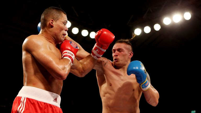 Usyk won a points decision over Joyce