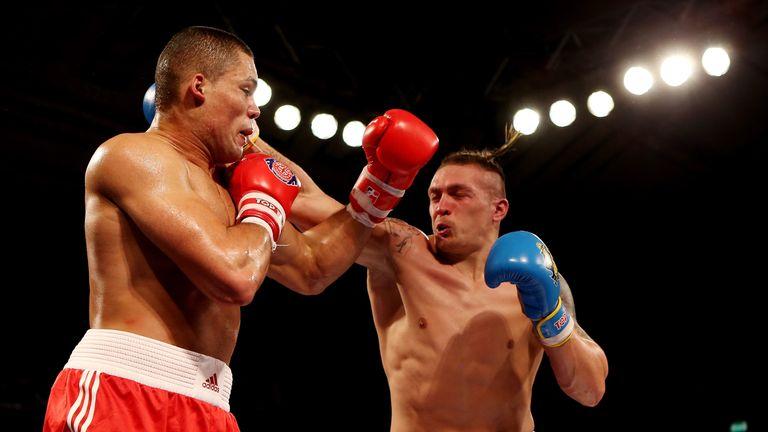 Usyk beat Joyce in an amateur bout