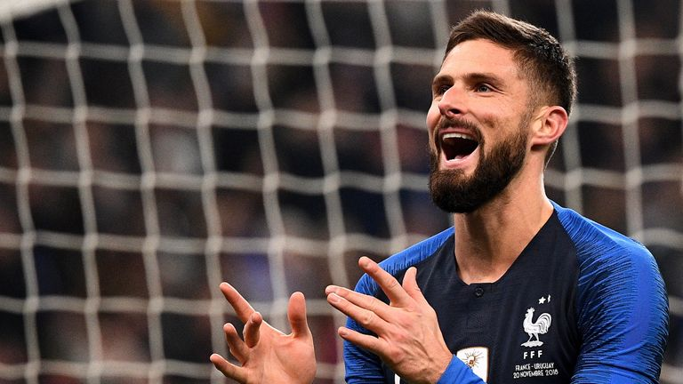 Olivier Giroud scored the winner for France