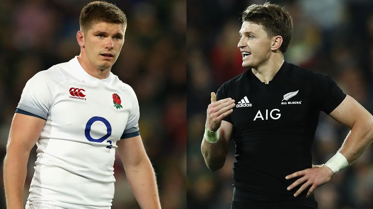 Who would you pick of you could choose between Owen Farrell and Beauden Barrett?