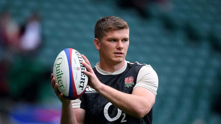 Owen Farrell is among the players who are unhappy with the current World League proposal