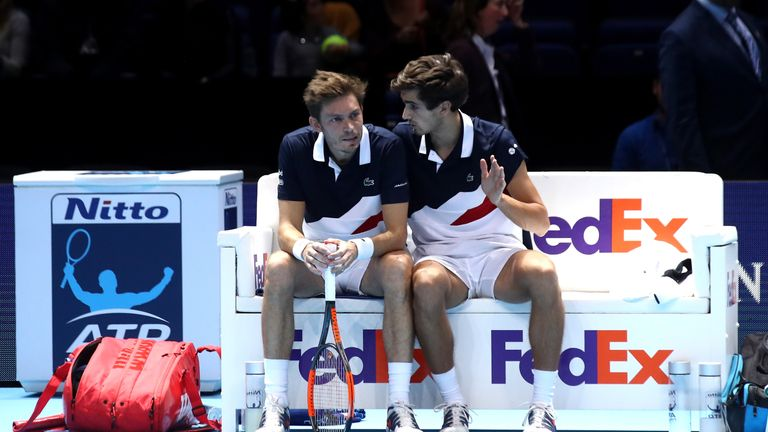 Davis Cup final: pairings unveiled