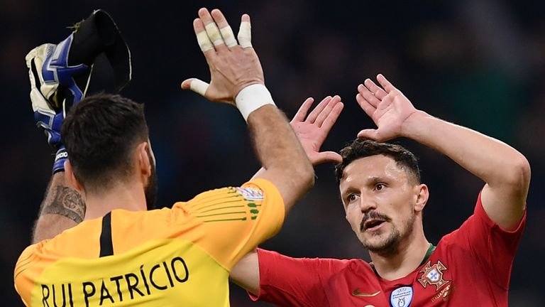 Portugal held Italy to a 0-0 draw at the San Siro to reach the Nations League Finals in June