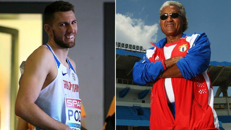 Andrew Pozzi has linked up with top coach Santiago Antunez