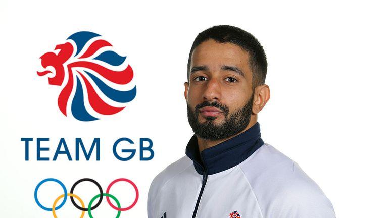 Boxer Qais Ashfaq was one of just seven British Asians in Team GB at Rio 2016