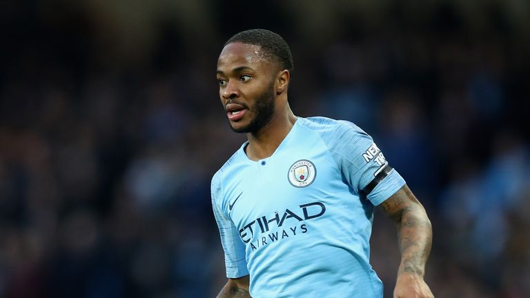Raheem Sterling has scored six goals and registered five assists for City this season