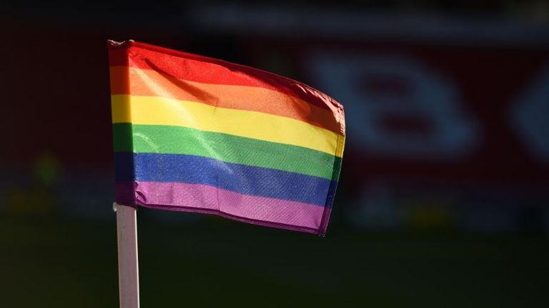 Rainbow Laces corner flags will be in use at selected EFL matches from November 24