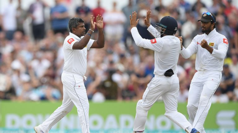 Herath took three wickets in his final Test