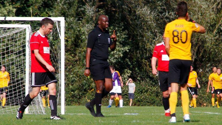 Raymond Mashamba, referee