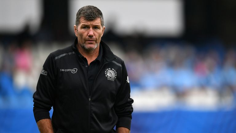 Rob Baxter's Exeter head into Europe off a Premiership loss, knowing defeat would likely end their Champions Cup campaign
