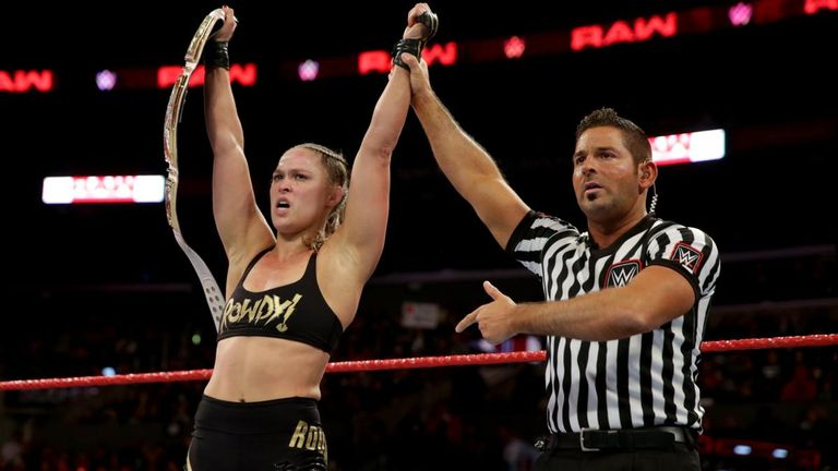 WWE Raw: Ronda Rousey makes title defence 24 hours after Survivor Series beating