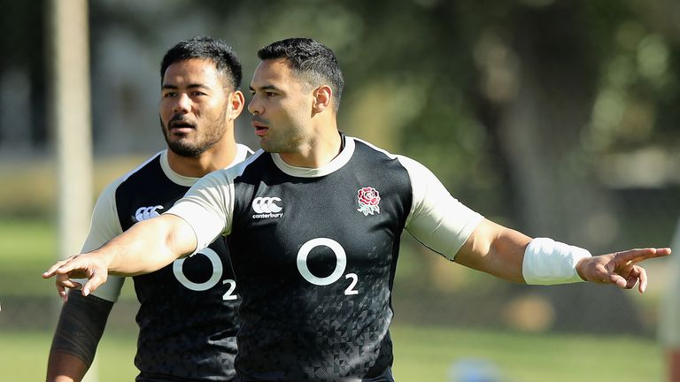 Manu Tuilagi out, Chris Ashton in for England