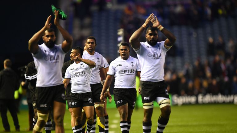 Fiji responded to their defeat to Scotland by beating Uruguay last weekend