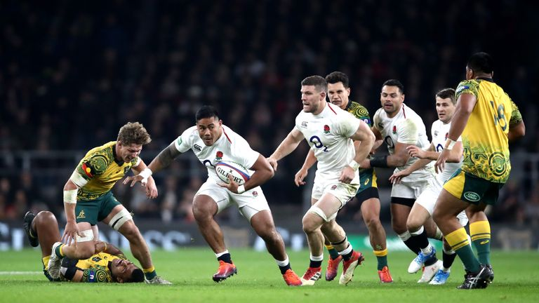 Manu Tuilagi will start his first England game since 2014; his first Six Nations one since 2013
