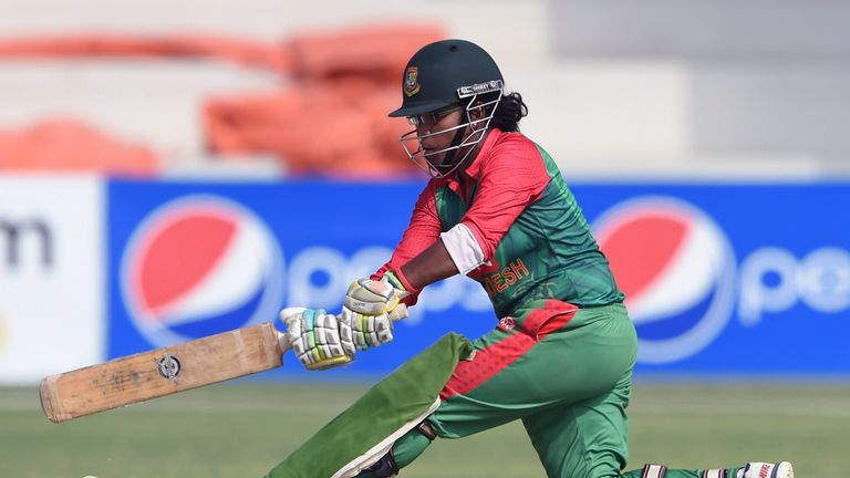 Rumana Ahmed has a strike rate of over 80 in T20I for Bangladesh