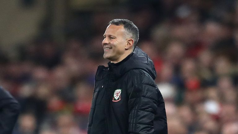 Ryan Giggs is now manager of the Wales national team
