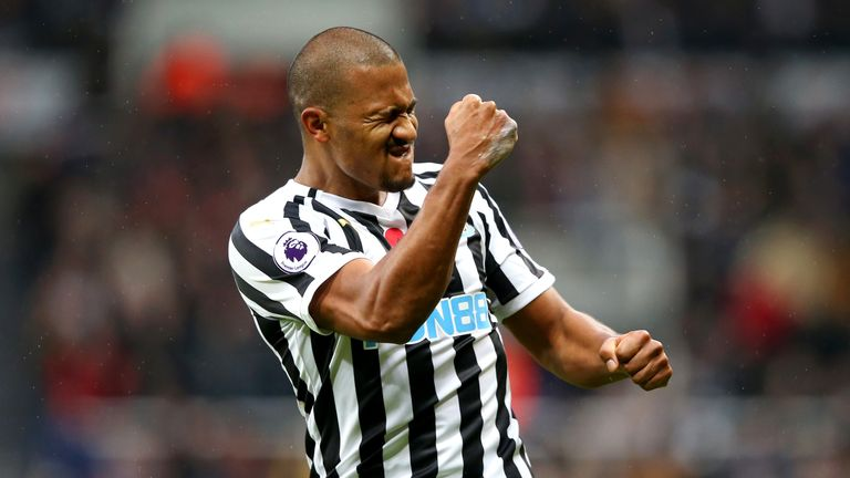 Salomon Rondon scored both goals in Newcastle's 2-1 win over Bournemouth