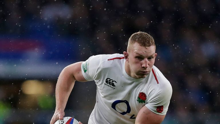 Sam Underhill could be doubtful for England's Six Nations openers
