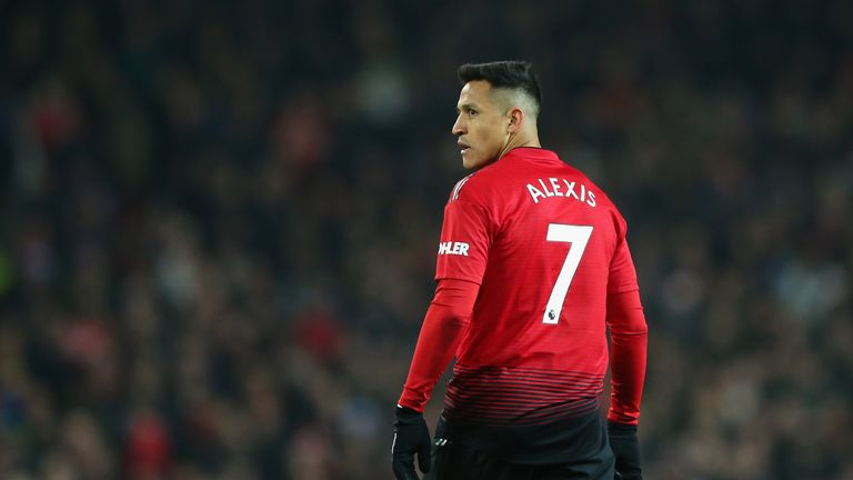 Sanchez is among a number of players to struggle to live up to wearing United's No 7 shirt since Cristiano Ronaldo vacated it in 2009
