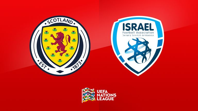 Scotland vs Israel is live on Sky Sports Main Event from 7pm on Tuesday
