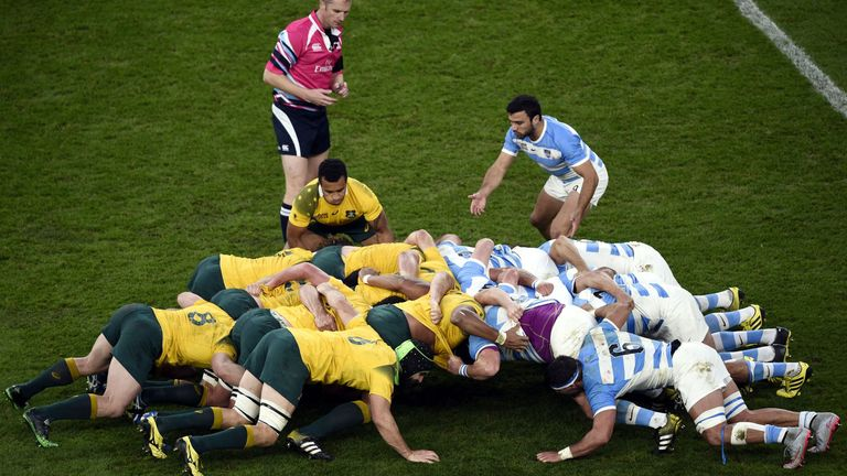 Argentina's scrum is not the same beast it used to be, says Mario Ledesma