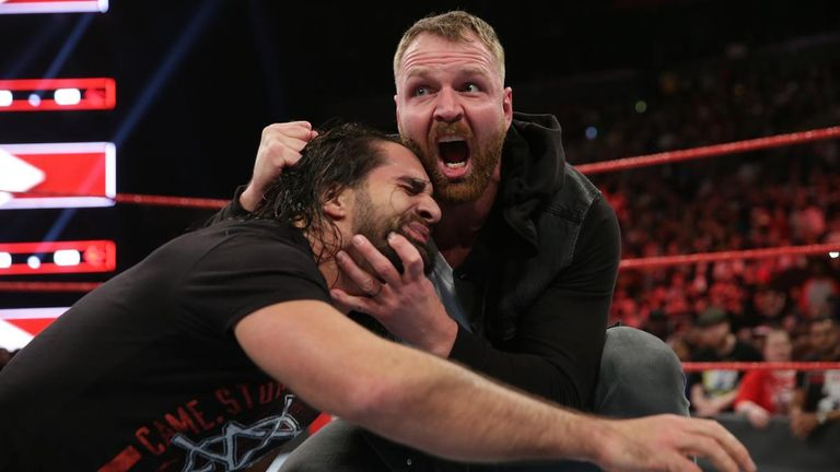With Roman Reigns absent, Rollins and Ambrose have been involved in a drawn-out war between two former Shield partners