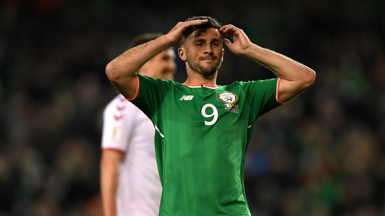 Shane Long has pulled out with a groin problem