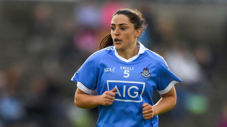 Sinead Goldrick gets another award at half-back