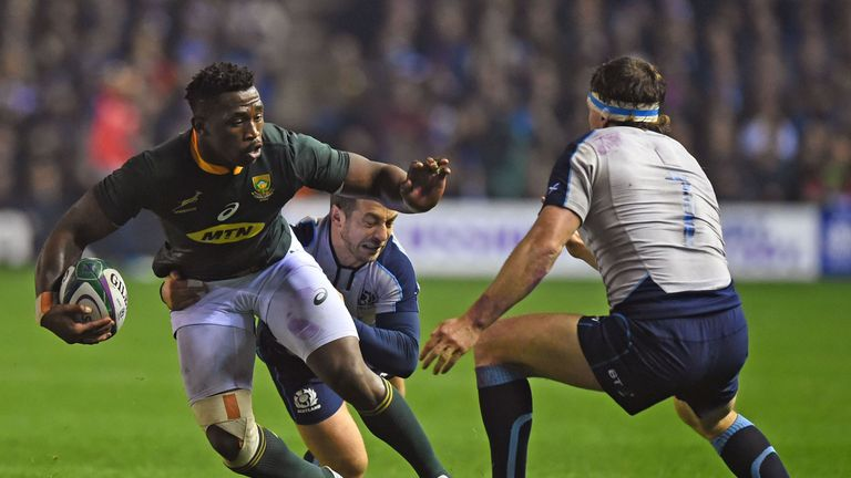 South Africa skipper Siya Kolisi cleared to face Wales