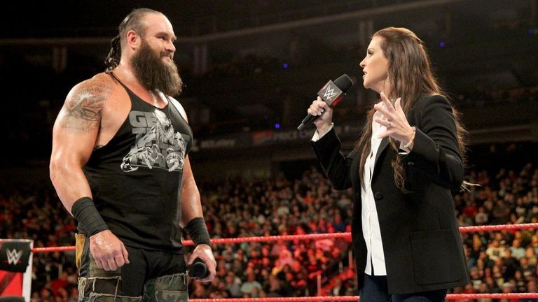 Braun Strowman had several demands accepted by Raw commissioner Stephanie McMahon