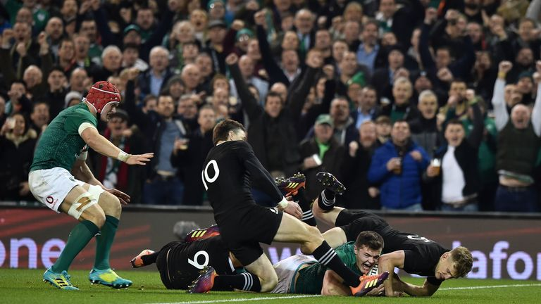 Stockdale's try on 48 minutes was superb in its execution