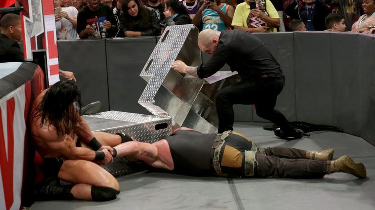 Braun Strowman has not really been the same since his elbow was injured in a November attack on Raw