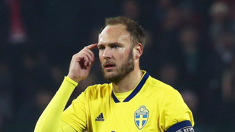 Andreas Granqvist's second-half penalty was enough as Sweden beat Turkey 1-0 in their last game