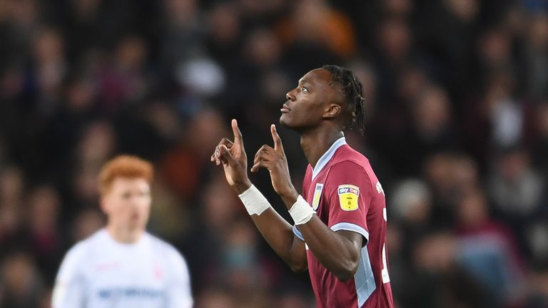 Abraham scored 25 goals in 37 Championship matches during loan spell with Aston Villa last season