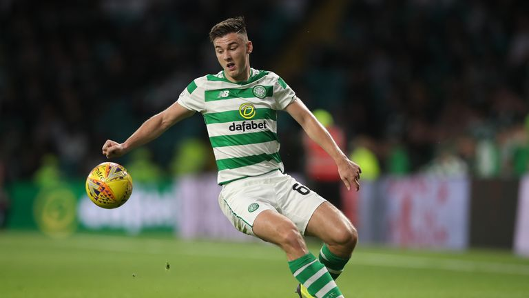 Celtic's Kieran Tierney has had to pull out of the Scotland squad