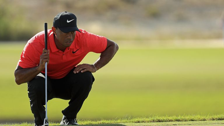Woods has not played competitive golf since the Ryder Cup