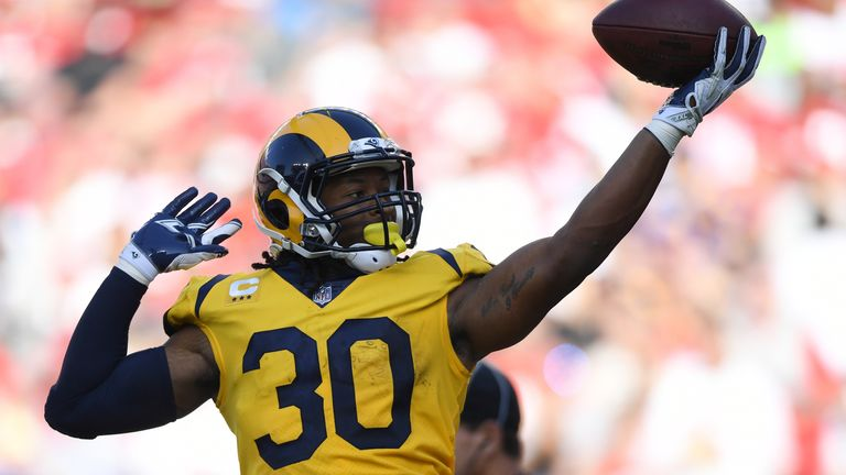 Could Rams running back Todd Gurley be in line for the NFL's league MVP award?