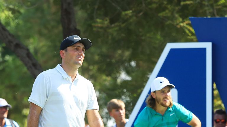 Tommy Fleetwood played alongside Molinari on Thursday
