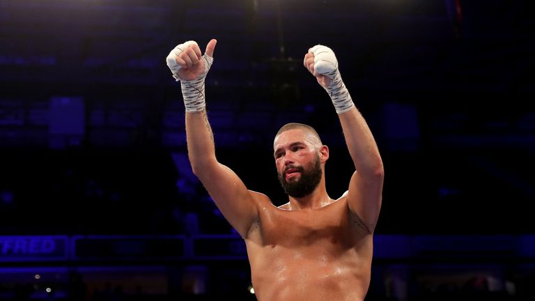 Tony Bellew retires with a record of 30-3-1.