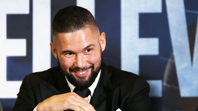 Tony Bellew will face Oleksandr Usyk again at their final press conference