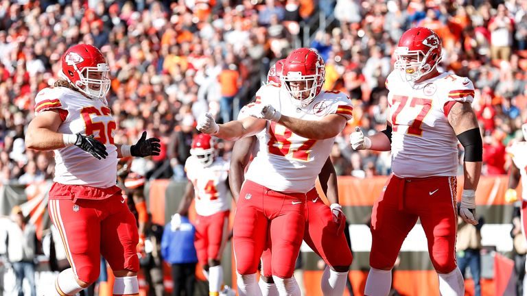 Travis Kelce and the Chiefs are having fun on offense