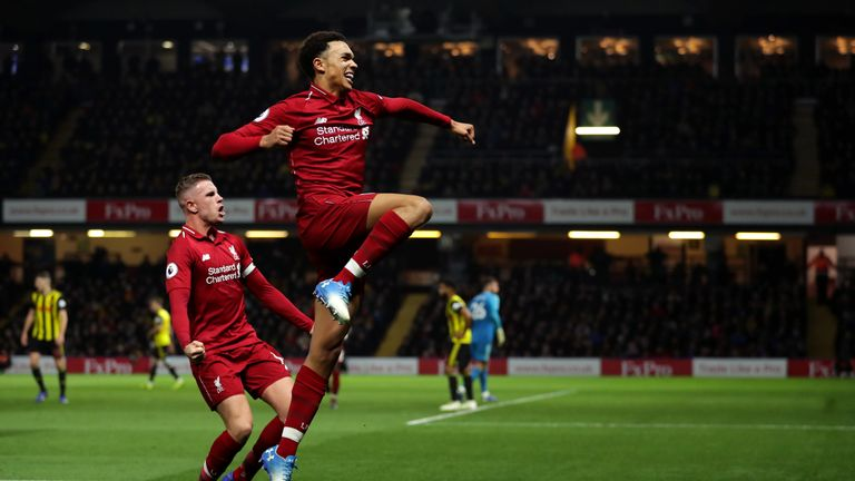 new style 5e30c bb26a Watford 0-3 Liverpool talking points: Trent Alexander-Arnold ...