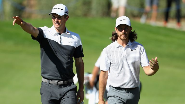 Justin Rose and Tommy Fleetwood lead the way for England in the world rankings