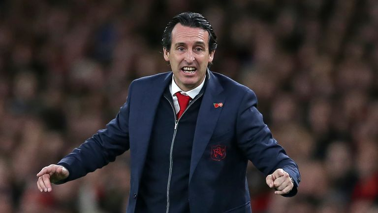 Unai Emery has seen plenty of goals during his short time with Arsenal